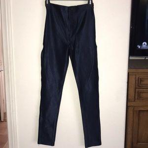 Blue American apparel disco pants small